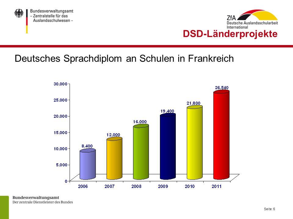 Deutsches Sprachdiplom an Schulen in Frankreich