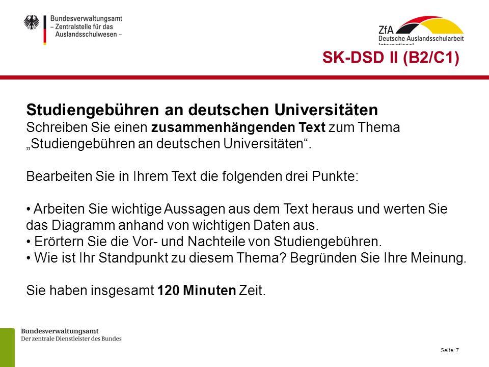 Studiengebühren an deutschen Universitäten