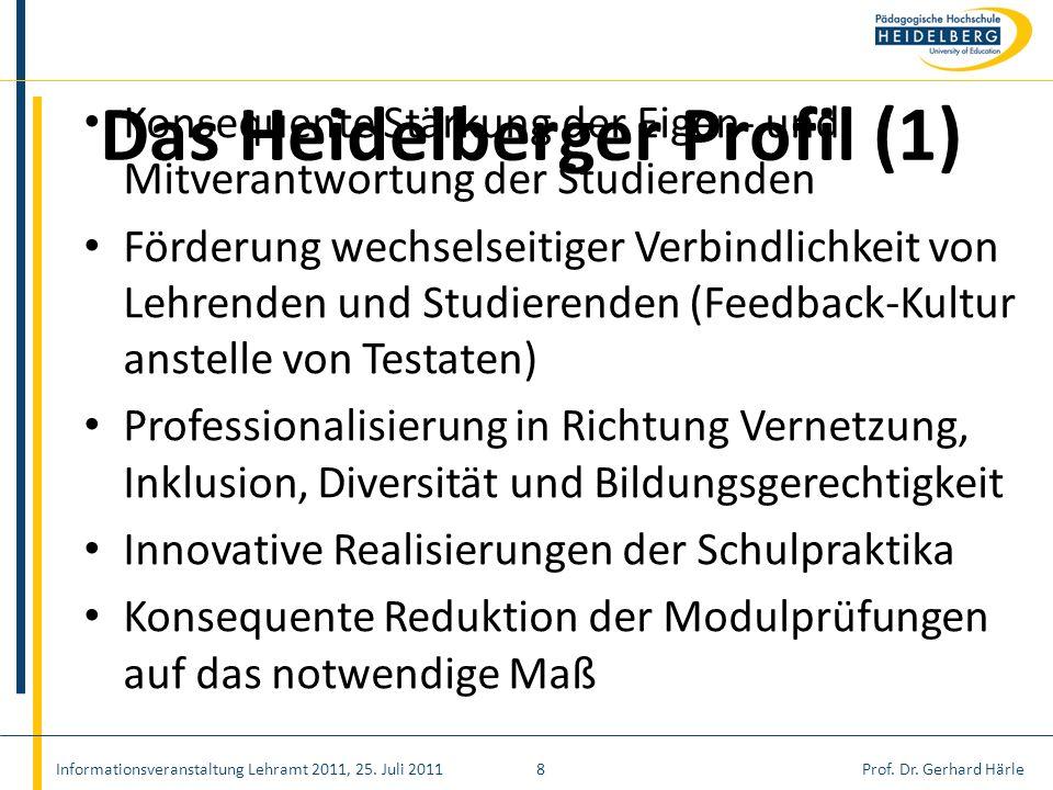 Das Heidelberger Profil (1)
