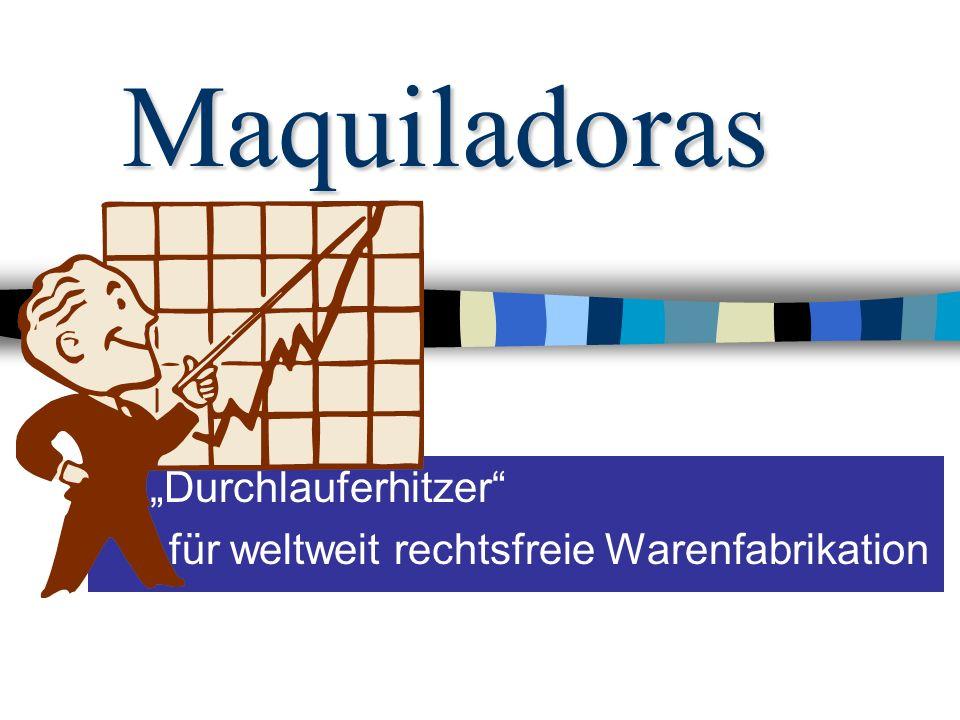 """""""Durchlauferhitzer für weltweit rechtsfreie Warenfabrikation"""