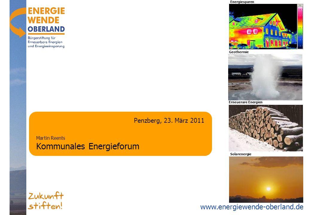 Martin Reents Kommunales Energieforum