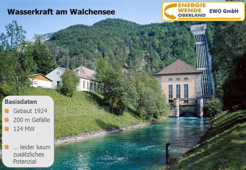 Wasserkraft am Walchensee