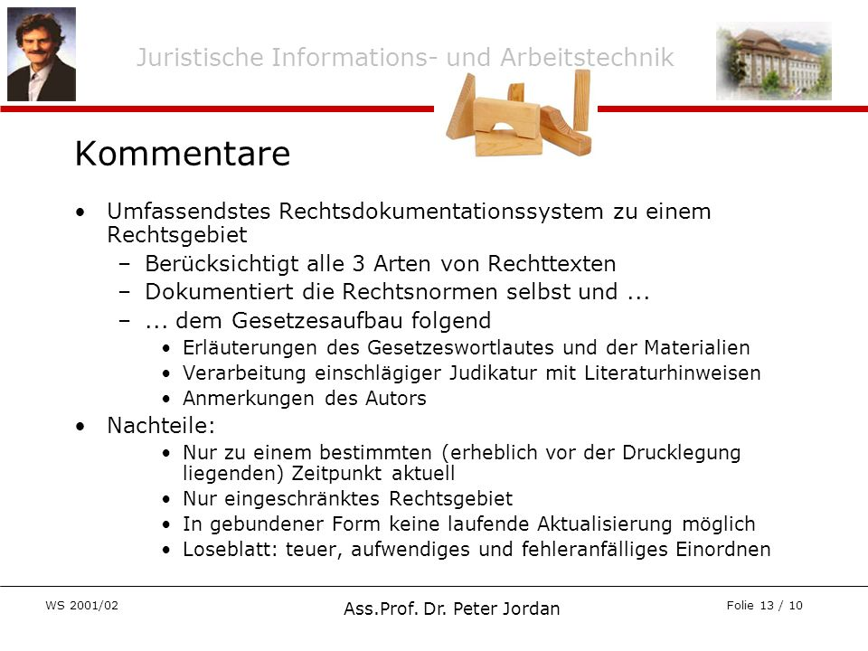 Ass.Prof. Dr. Peter Jordan