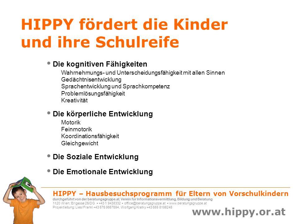 HIPPY fördert die Kinder und ihre Schulreife