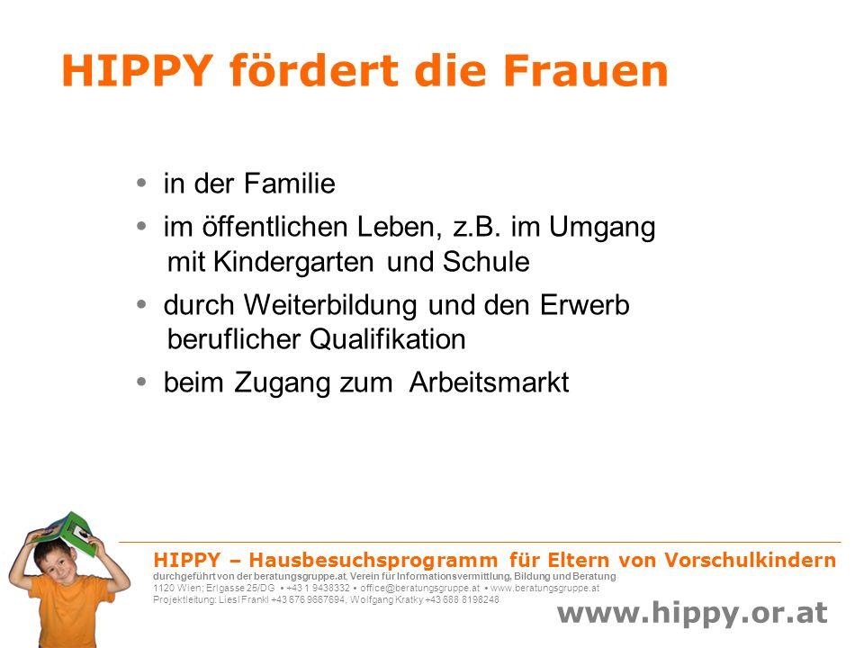HIPPY fördert die Frauen