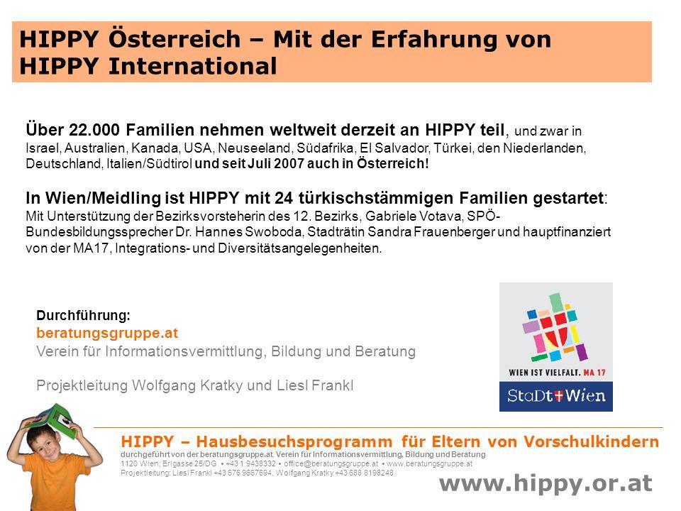 HIPPY Österreich – Mit der Erfahrung von HIPPY International