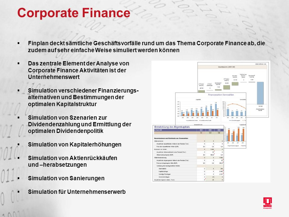 simulation corporate finance Perfect for corporate training or higher education, these online simulations in  business strategy, leadership, and team  data detective: financial analysis.
