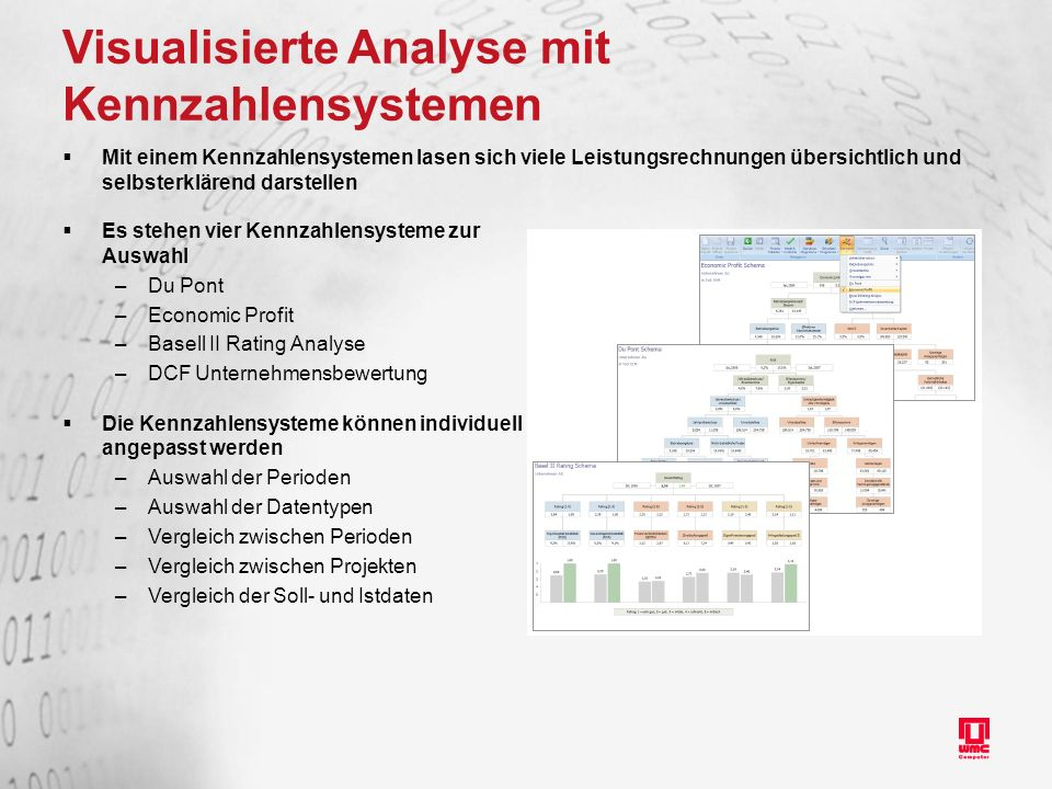 Visualisierte Analyse mit Kennzahlensystemen