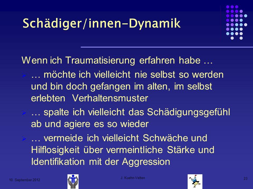 Schädiger/innen-Dynamik