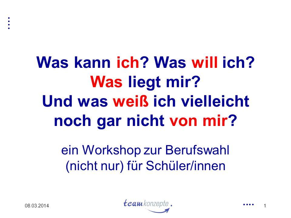 ein Workshop zur Berufswahl (nicht nur) für Schüler/innen