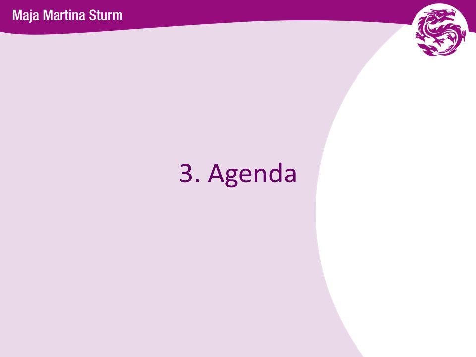 3. Agenda 6