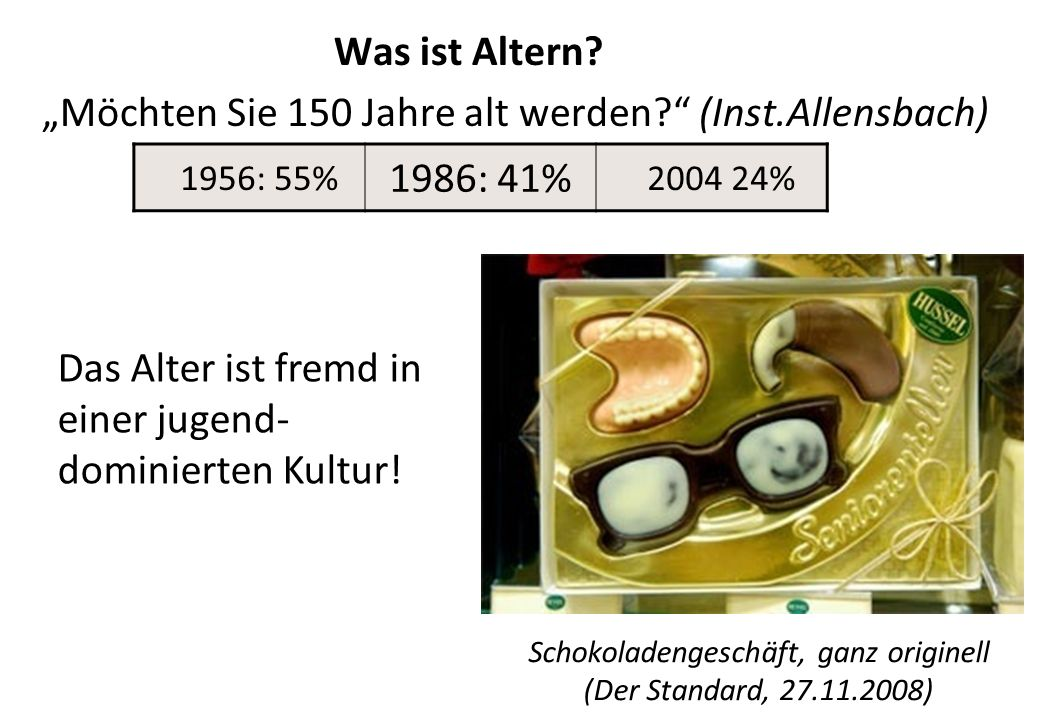 Schokoladengeschäft, ganz originell (Der Standard, 27.11.2008)