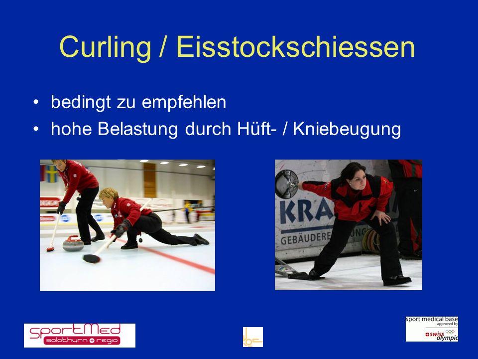 Curling / Eisstockschiessen