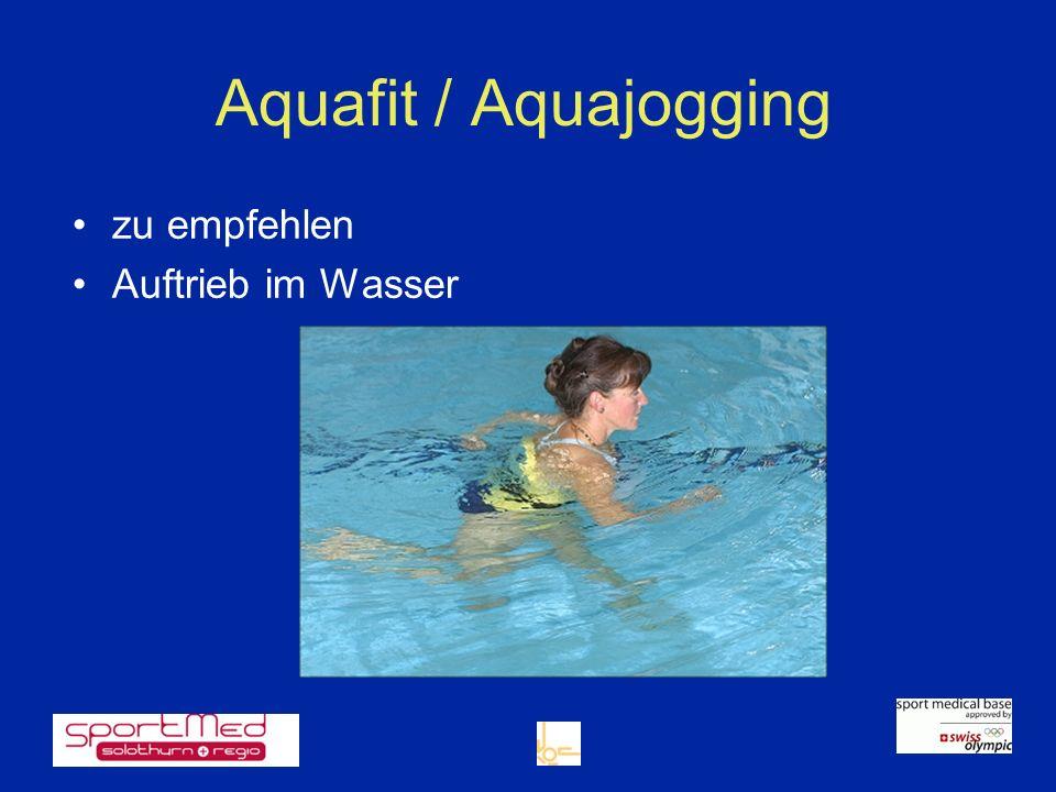 zu empfehlen Auftrieb im Wasser