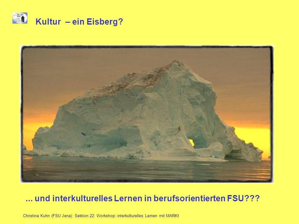 ... und interkulturelles Lernen in berufsorientierten FSU