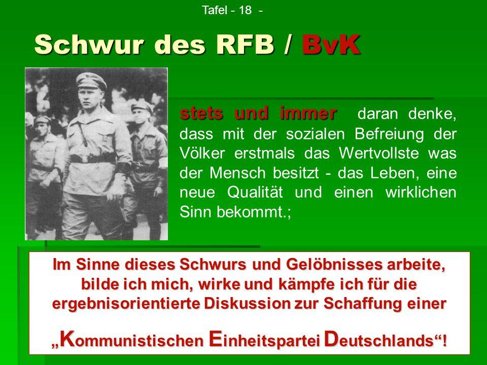 """""""Kommunistischen Einheitspartei Deutschlands !"""
