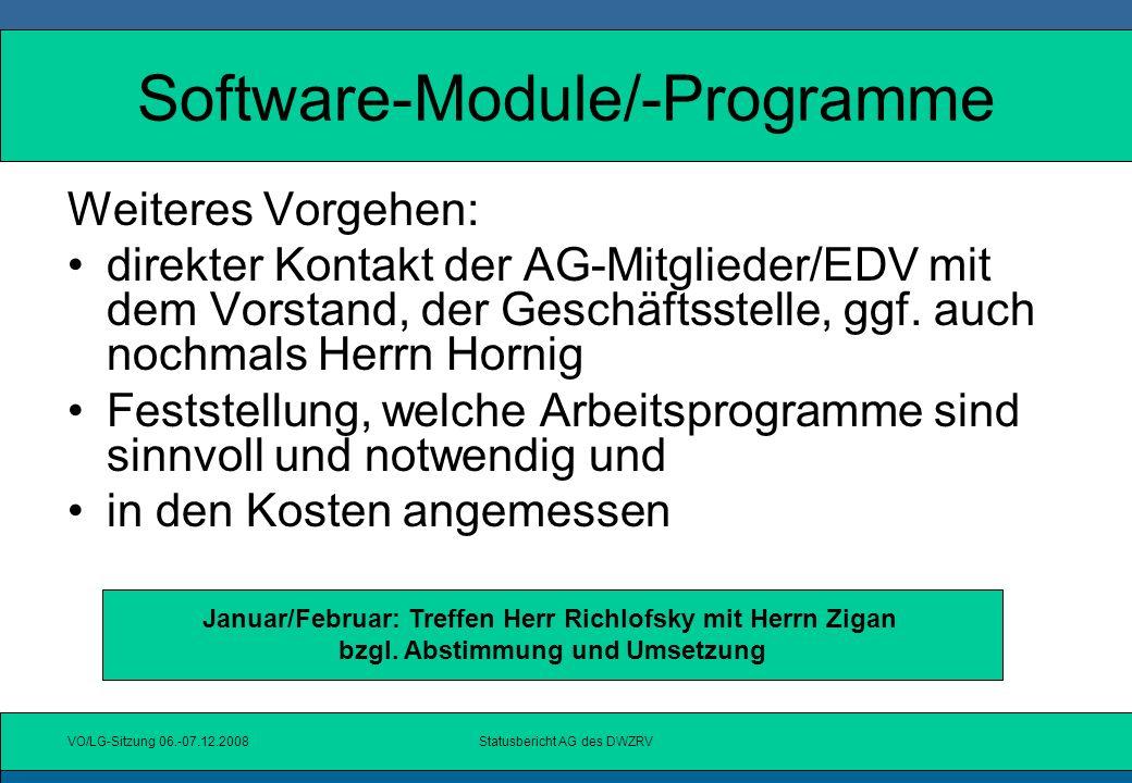 Software-Module/-Programme