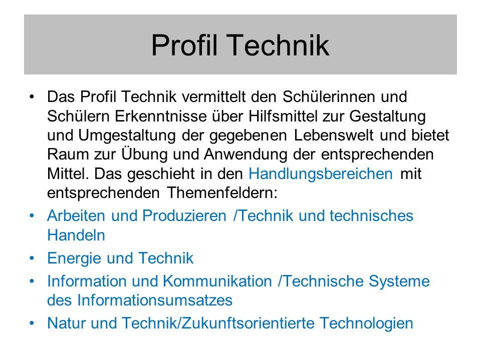 Profil Technik