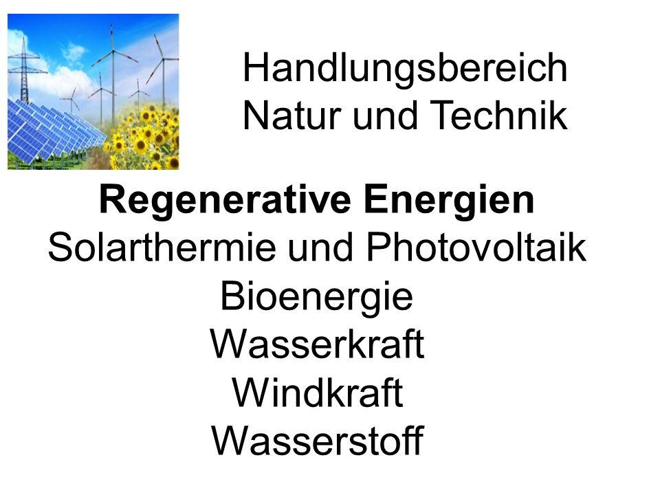 Handlungsbereich Natur und Technik