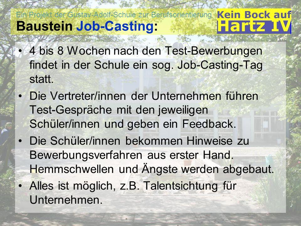 Baustein Job-Casting: