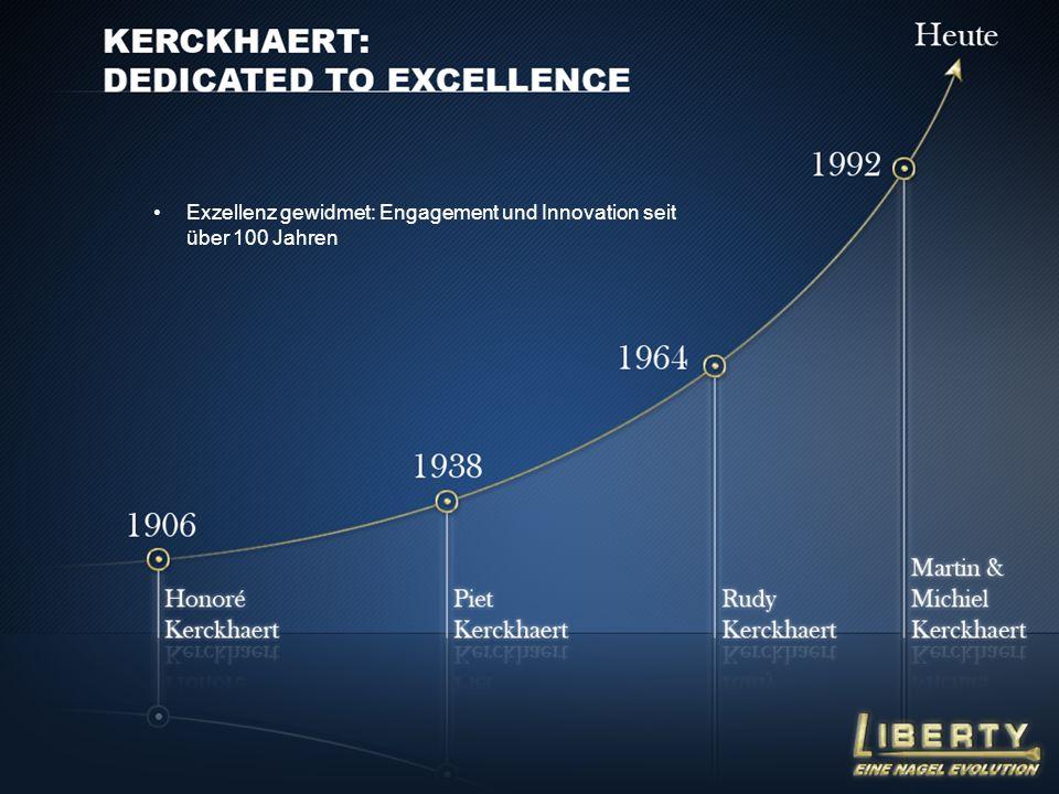 Exzellenz gewidmet: Engagement und Innovation seit über 100 Jahren