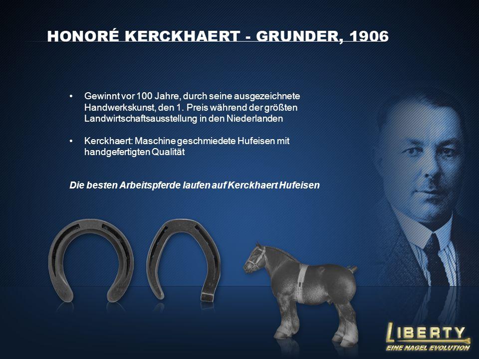 Gewinnt vor 100 Jahre, durch seine ausgezeichnete Handwerkskunst, den 1. Preis während der größten Landwirtschaftsausstellung in den Niederlanden