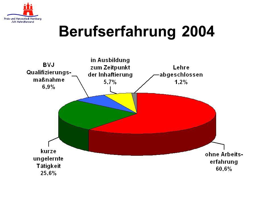 Berufserfahrung 2004