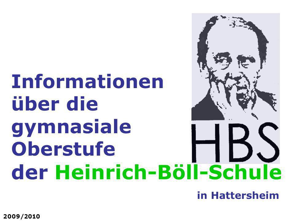 Informationen über die gymnasiale Oberstufe der Heinrich-Böll-Schule