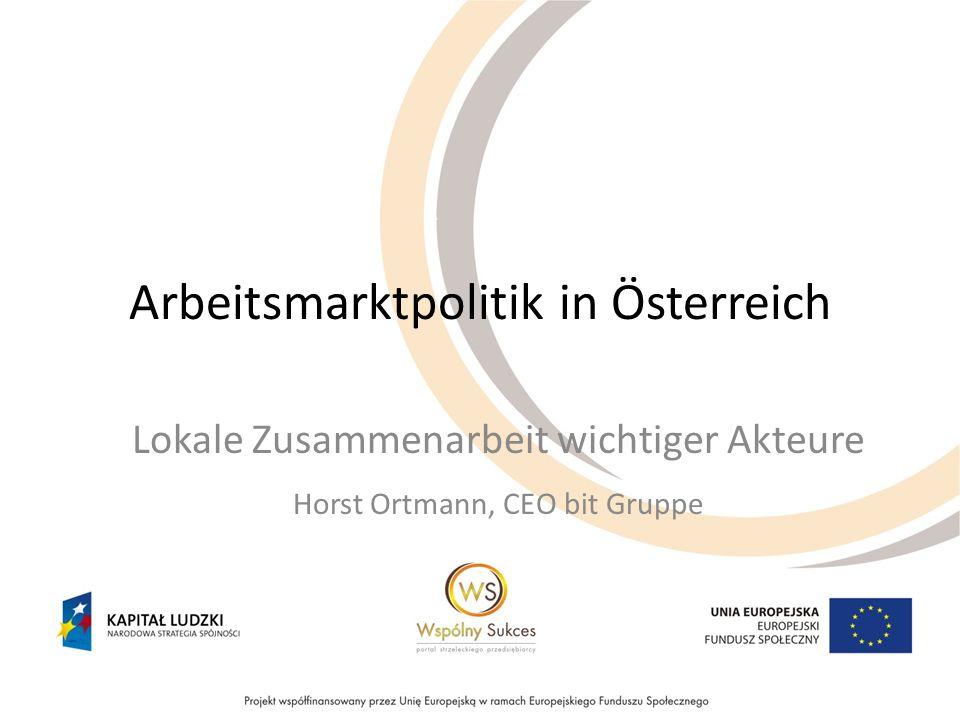Arbeitsmarktpolitik in Österreich