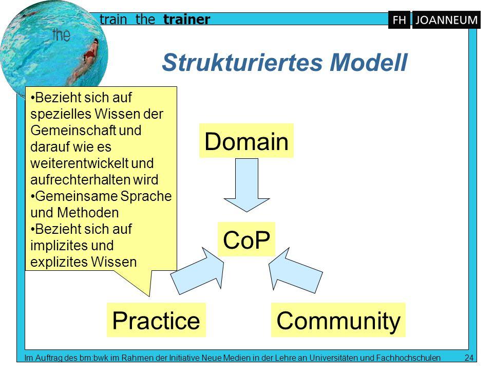 Strukturiertes Modell