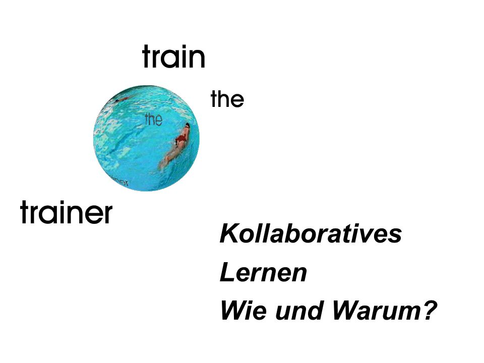 Kollaboratives Lernen Wie und Warum