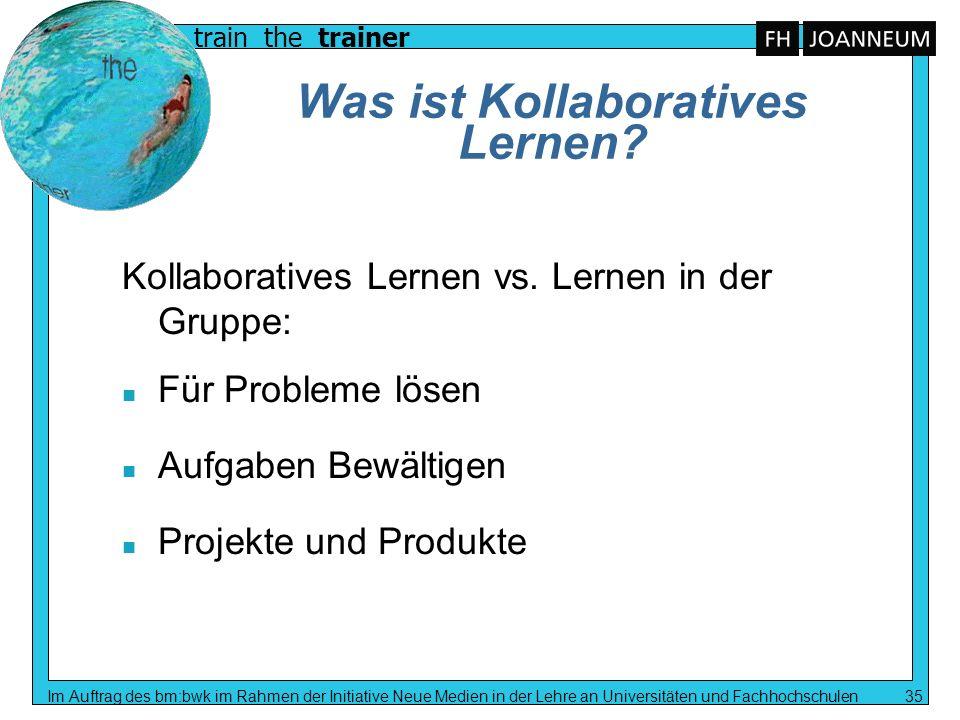 Was ist Kollaboratives Lernen