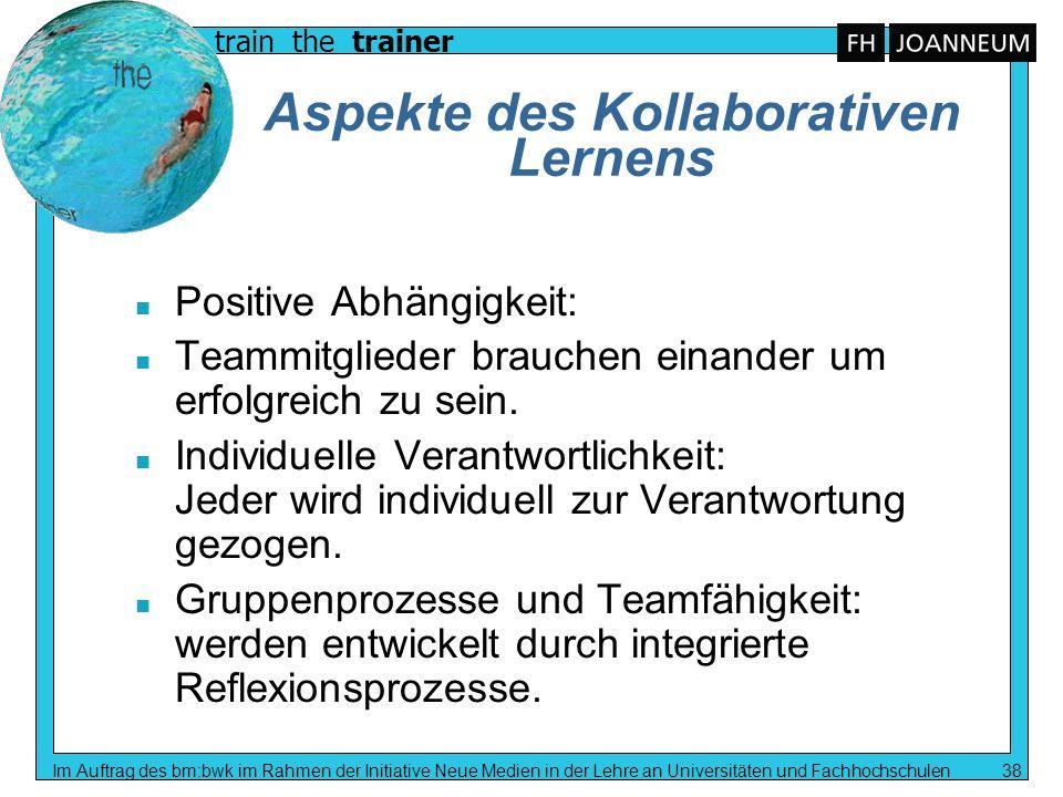 Aspekte des Kollaborativen Lernens