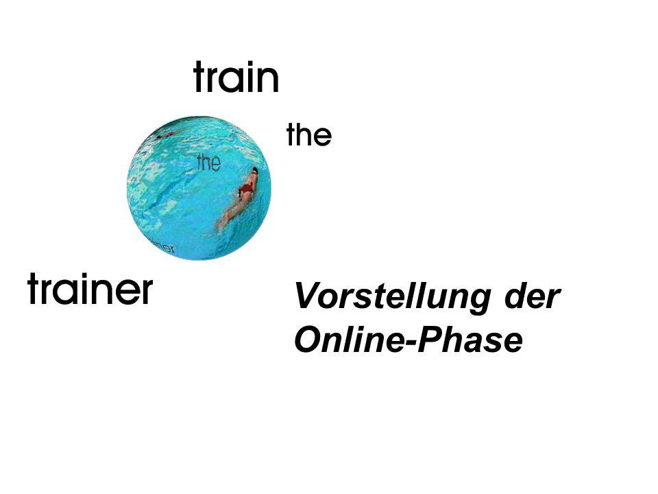 Vorstellung der Online-Phase