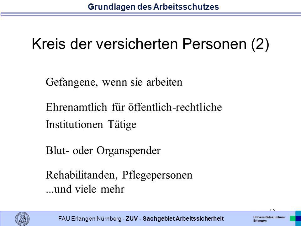 Kreis der versicherten Personen (2)