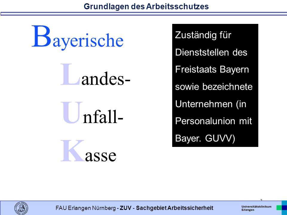 Bayerische Landes- Unfall- Kasse
