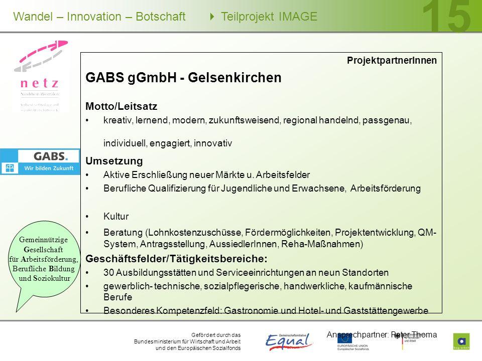 GABS gGmbH - Gelsenkirchen