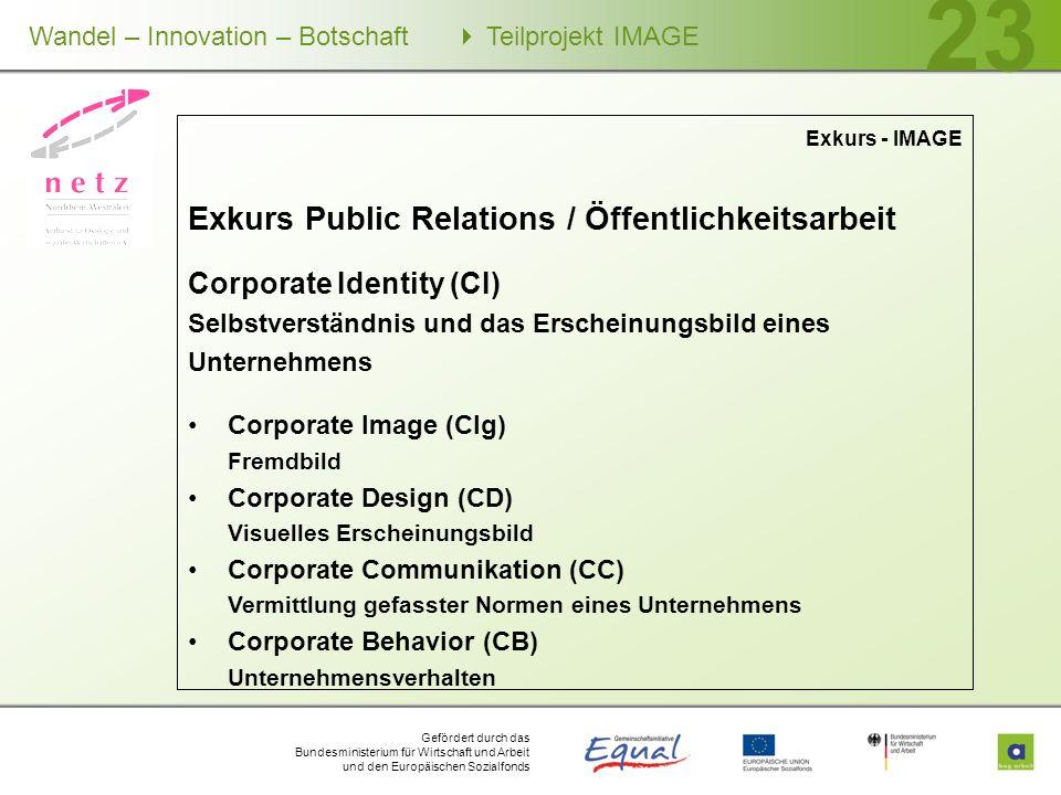 Exkurs Public Relations / Öffentlichkeitsarbeit