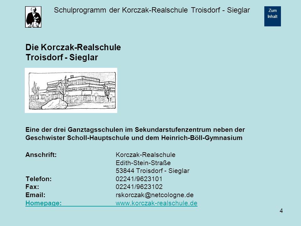 Die Korczak-Realschule Troisdorf - Sieglar