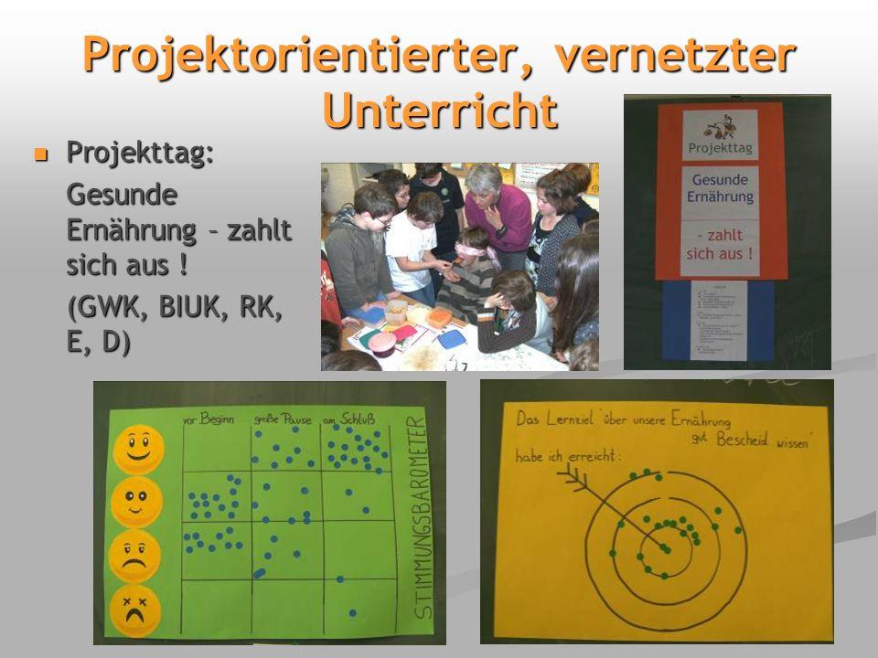 Projektorientierter, vernetzter Unterricht