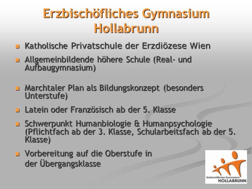 Erzbischöfliches Gymnasium Hollabrunn