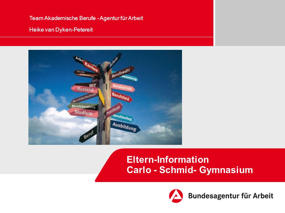 Eltern-Information Carlo - Schmid- Gymnasium