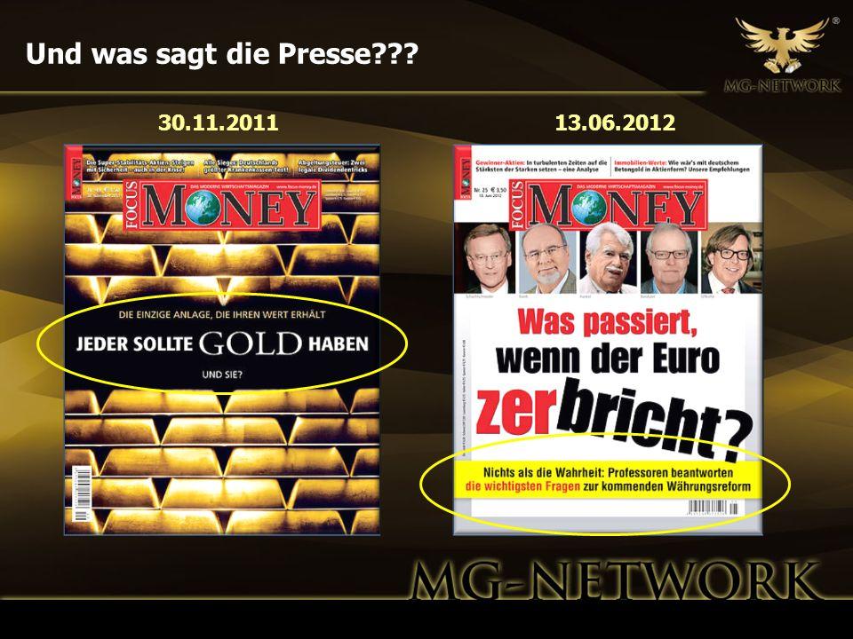 Und was sagt die Presse 30.11.2011 13.06.2012 11
