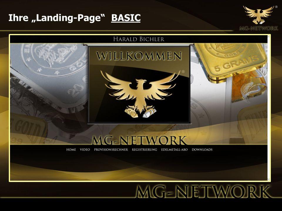 """Ihre """"Landing-Page BASIC"""