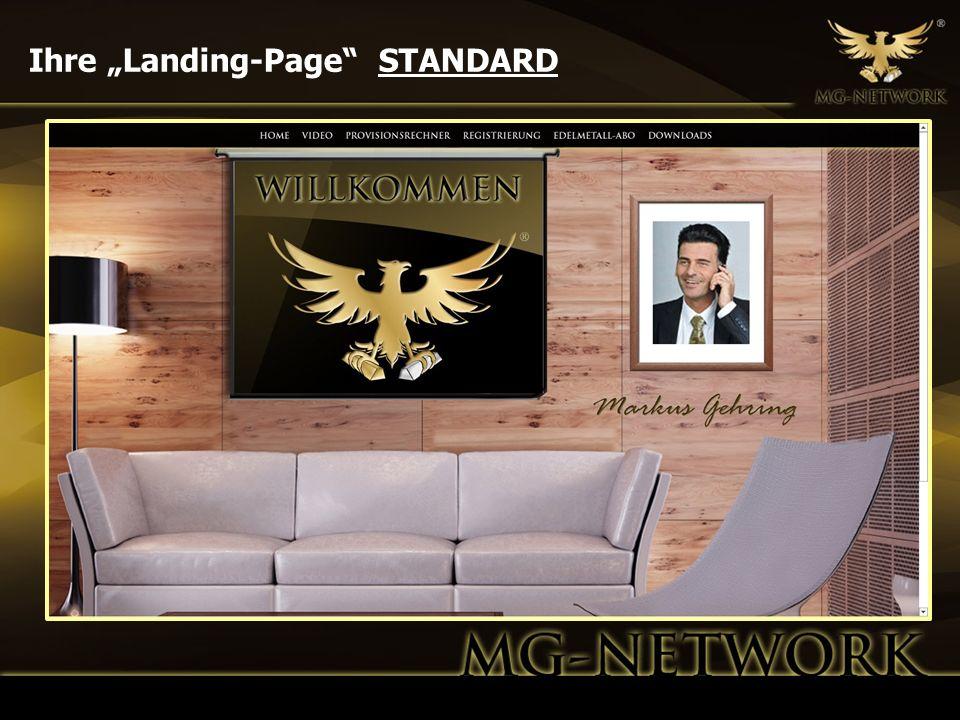 """Ihre """"Landing-Page STANDARD"""