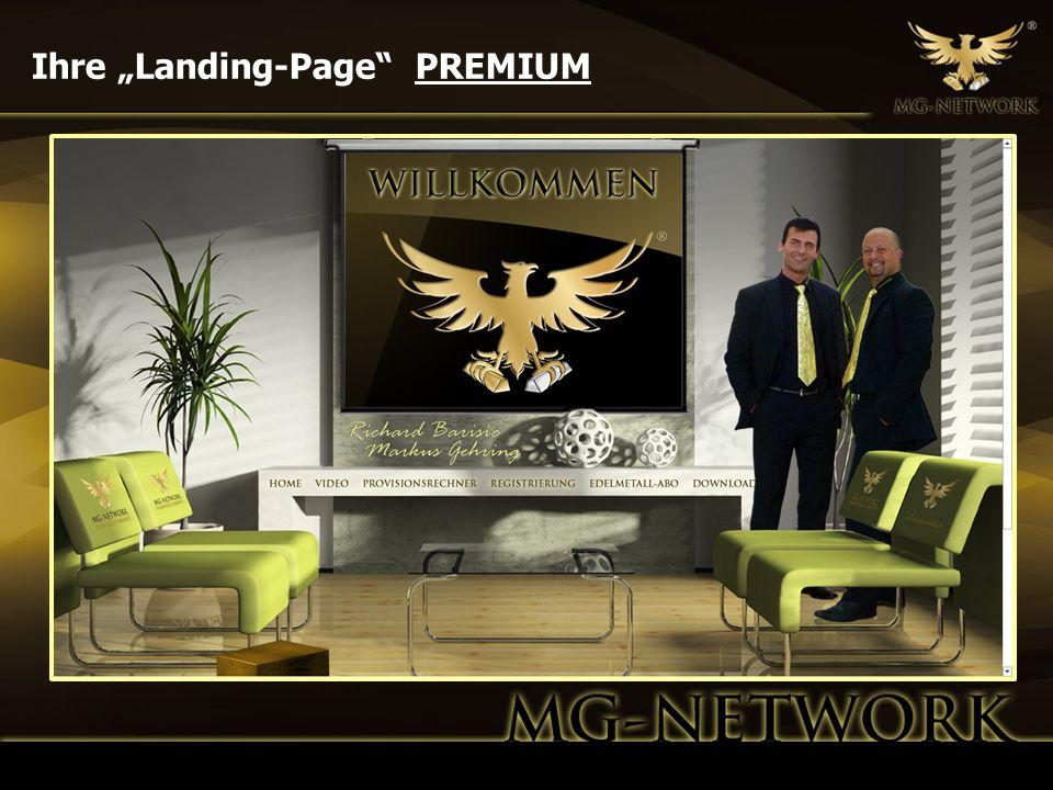 """Ihre """"Landing-Page PREMIUM"""