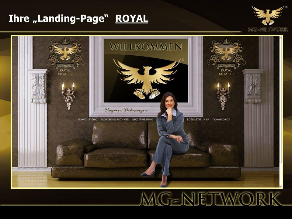 "Ihre ""Landing-Page ROYAL"