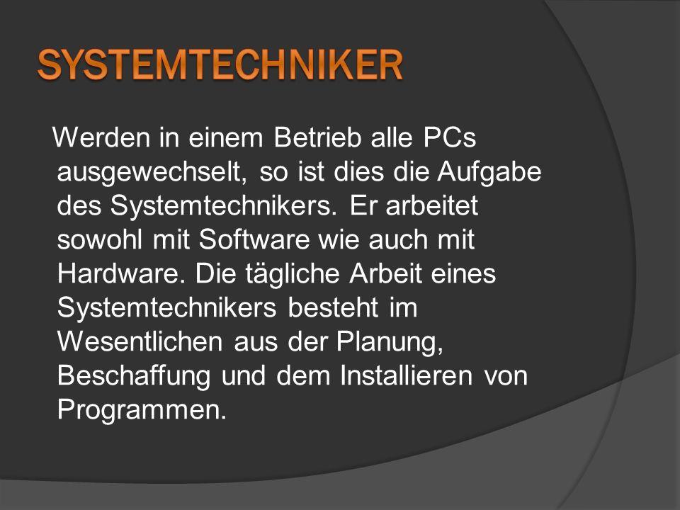 Systemtechniker