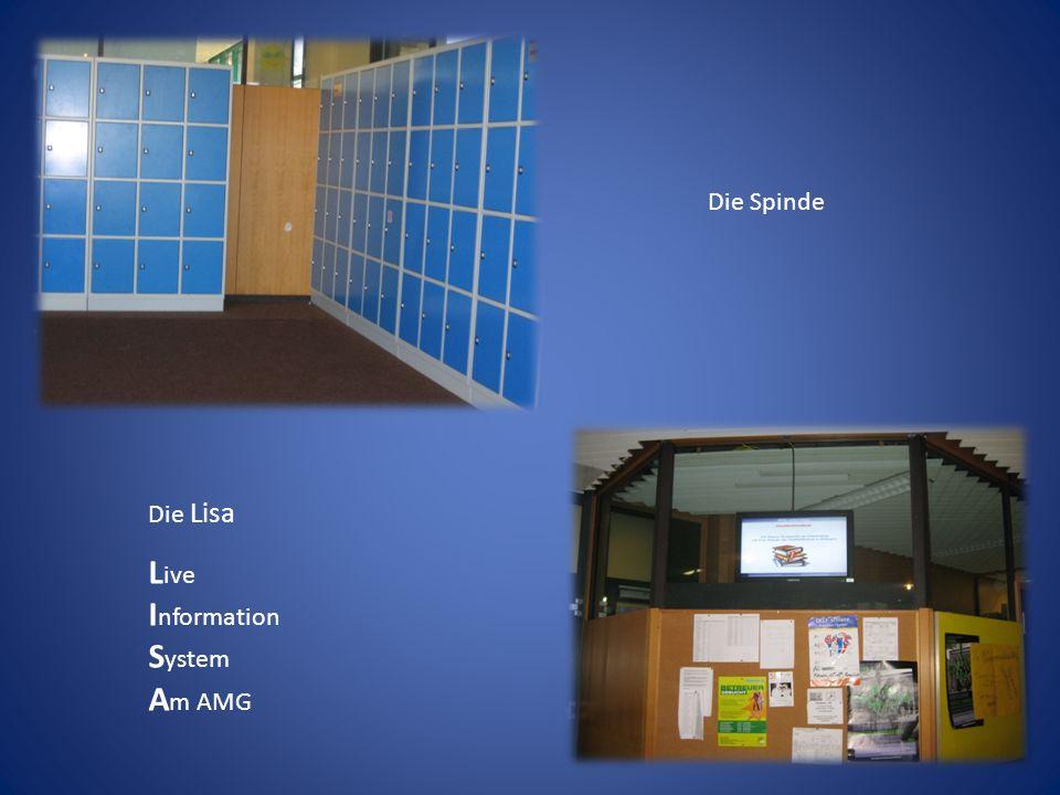 Die Spinde Live Information System Am AMG Die Lisa