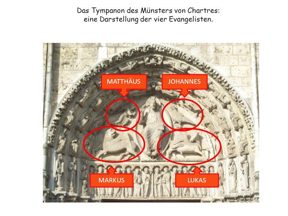 Das Tympanon des Münsters von Chartres: